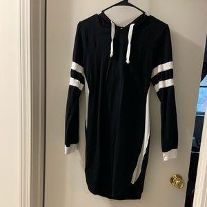 ⭐️hooded bodycon dress